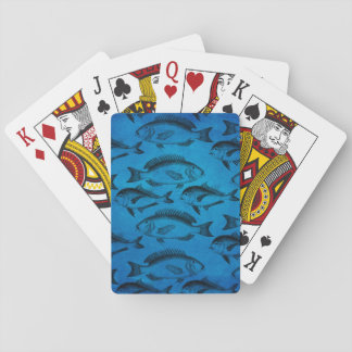 Vintage Fish Pattern Playing Cards