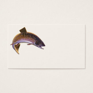 Vintage Fish, Sports Fishing Fisherman Business Card