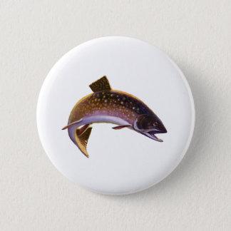 Vintage Fish, Sports Fishing Fisherman Button