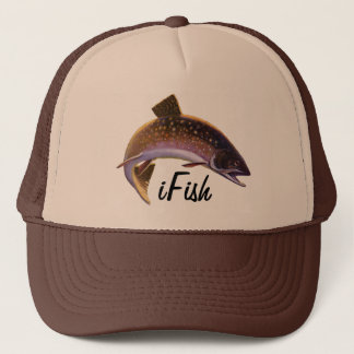 Vintage Fish, Sports Fishing Fisherman Trucker Hat