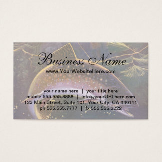 Vintage Fish, Sports Fishing Trout Catch n Release Business Card