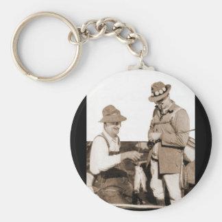 Vintage Fishermen Keychain