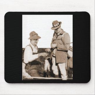 Vintage Fishermen Mouse Pad