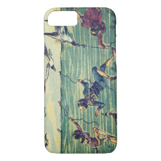 Vintage Fishing for Seagulls En L'An 2000 iPhone 7 Case