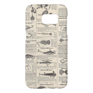 Vintage Fishing Lures Antique Samsung Galaxy S7 Case