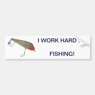 Vintage Fishmaster Jerry Sylvester Flaptail Lure Bumper Sticker