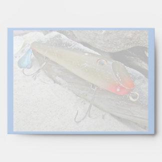 Vintage Fishmaster Jerry Sylvester Flaptail Lure Envelope
