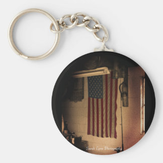 Vintage Flag Keychain