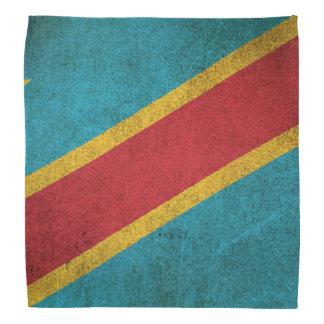 Vintage Flag of Democratic Republic of Congo Bandana