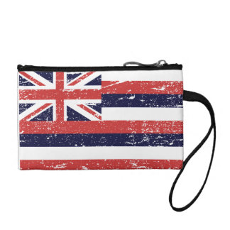 VINTAGE FLAG OF HAWAII COIN PURSE
