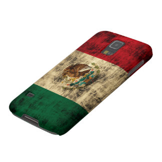 Vintage Flag of Mexico Distressed Case For Galaxy S5