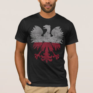 Vintage Flag of Poland White Eagle T-Shirt