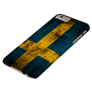 Vintage Flag of Sweden Barely There iPhone 6 Plus Case