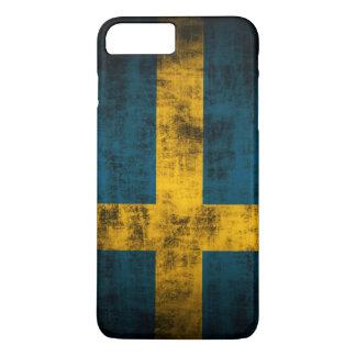 Vintage Flag of Sweden iPhone 7 Plus Case