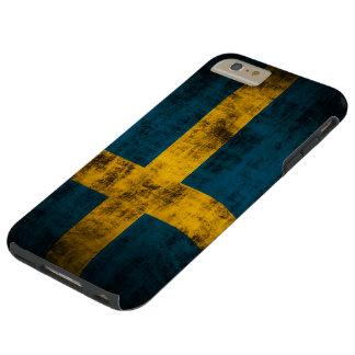 Vintage Flag of Sweden Tough iPhone 6 Plus Case