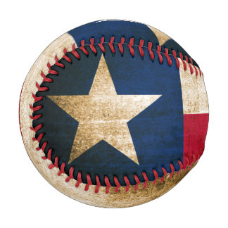 Vintage Flag of Texas Baseball