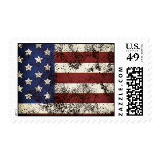 Vintage Flag Stamp
