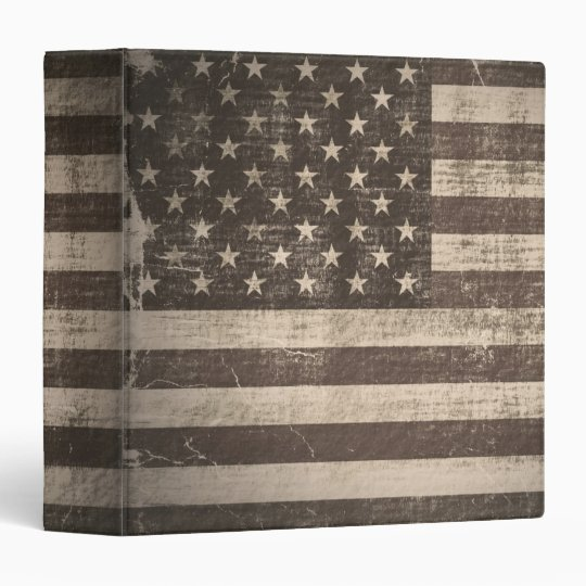 Vintage Flag United States 2 Binders