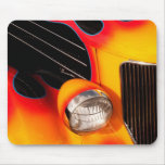 Vintage Flame, Chrome and Speed Mouse Pad