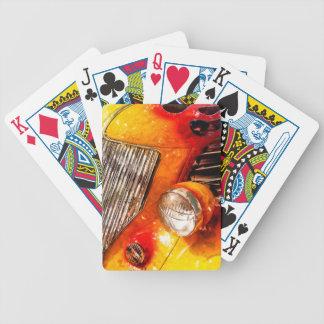 Vintage flame Hot Rod Deck Of Cards
