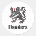 Vintage Flandes Etiqueta