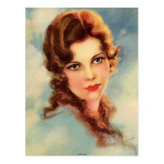 Vintage Flapper (24) Postcard