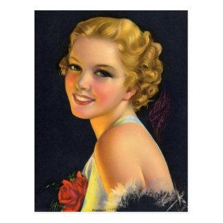 Vintage Flapper (25) Post Card