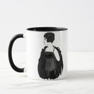 Vintage Flapper Corset Mug