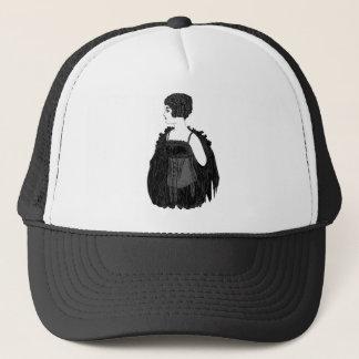 Vintage Flapper Corset Trucker Hat