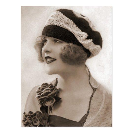 Vintage Flapper Photograph (115) Postcard