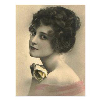 vintage flappers (343) postcard