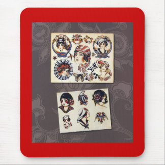 Vintage - Flappers Mouse Pad