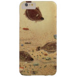 Vintage Flat Fish Flounders, Marine Ocean Life Barely There iPhone 6 Plus Case