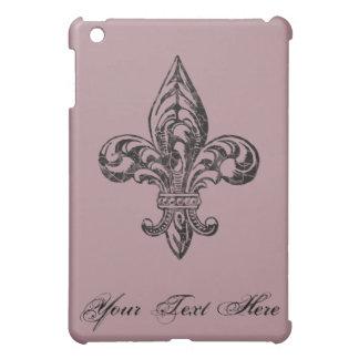VIntage Fleur de Lis Cover For The iPad Mini