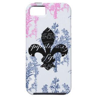 Vintage Fleur de Lis French Rose Damask Case iPhone 5 Cases