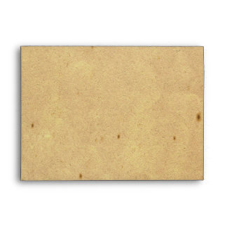 Vintage Fleur de Lis Love Letter Wedding Envelope