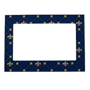 Navy Blue Picture Frames Zazzle