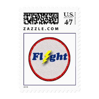 Vintage Flight Stamp