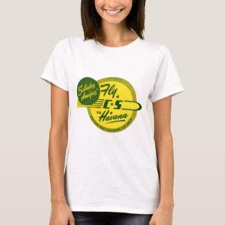 Vintage Flight to Havana T-Shirt