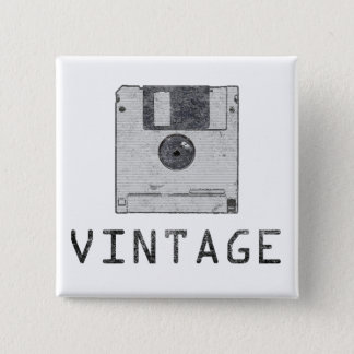 Vintage Floppy Button