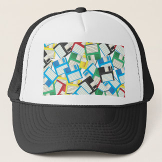 Vintage Floppy disks Trucker Hat