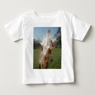 Vintage Flora and Fauna Milkweeds Floating.jpg Infant T-shirt
