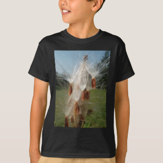 Vintage Flora and Fauna Milkweeds Floating.jpg T-Shirt