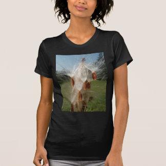 Vintage Flora and Fauna Milkweeds Floating.jpg Tee Shirt