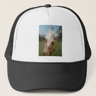Vintage Flora and Fauna Milkweeds Floating.jpg Trucker Hat