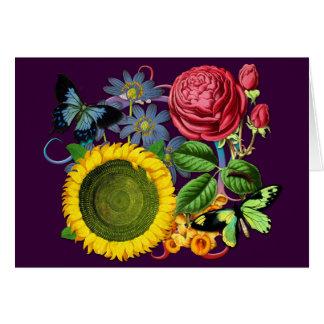 Vintage Flora Card