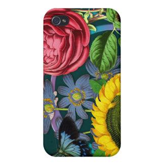 Vintage Flora iPhone 4/4S Case