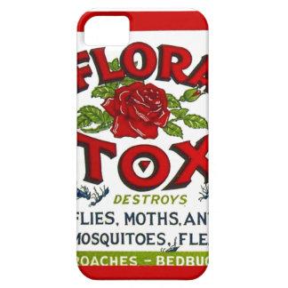 Vintage Flora Tox Poison Spray Graphic Art Label iPhone SE/5/5s Case