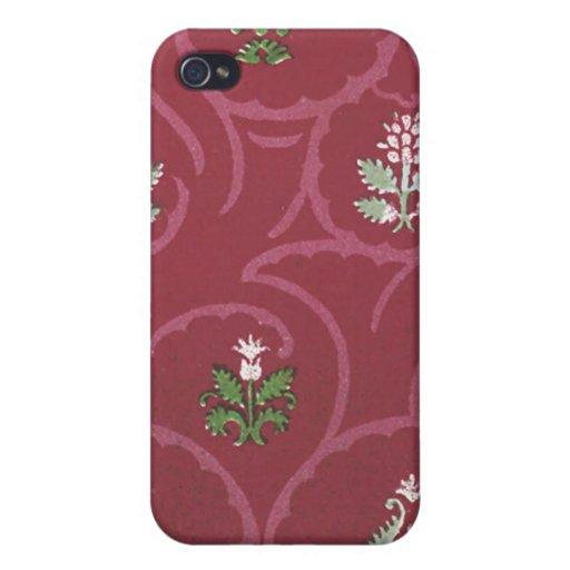 Vintage floral (23) iPhone 4/4S funda