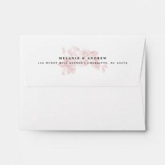 Vintage floral A2 envelope and liner